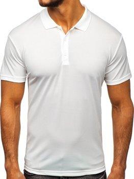 Bílá pánská polokošile Bolf HS2005