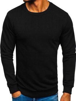 Černá pánská mikina bez kapuce Bolf 171715