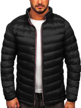 Černá pánská sportovní zimní bunda Bolf 1100