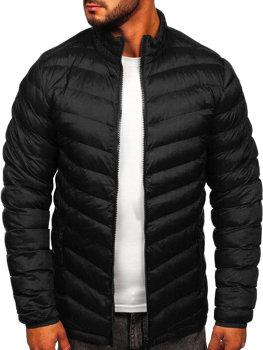 Černá pánská sportovní zimní bunda Bolf SM70