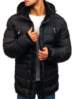 Černá pánská zimní bunda Bolf 48884