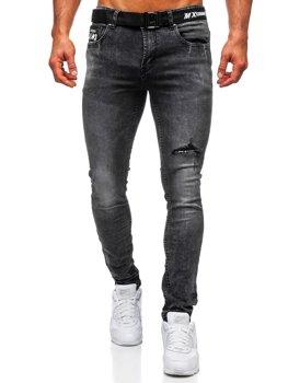 Černé pánské džíny slim fit Bolf 60026W0