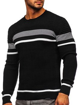 Černý pánský svetr Bolf 1061