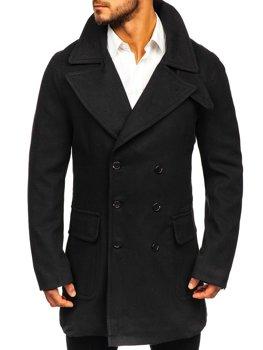 ?erny pánsky zimní kabát Bolf 1048