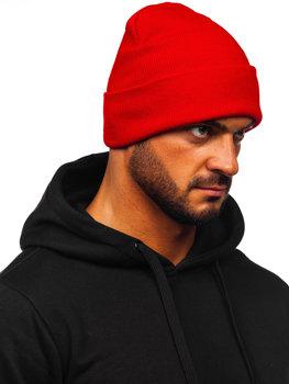Červená dámská zimní čepice Bolf YW09004M