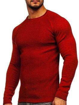 Červený pánský svetr Bolf 1009