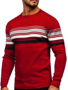 Červený pánský svetr Bolf H2061