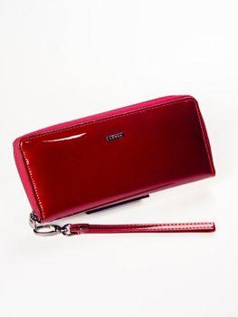 Dámská červená kožená peněženka 1214