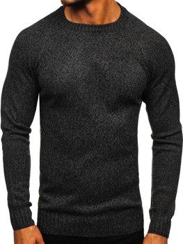 Grafitový pánský svetr Bolf H1929