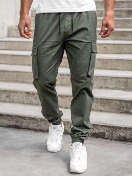 Khaki pánské jogger kapsáče Bolf 701