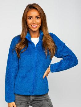 Modrá dámská fleecová bunda Bolf HH006