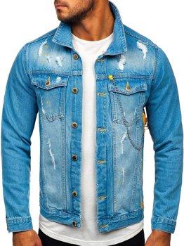 Modrá pánská džínová bunda Bolf 3-4