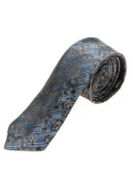 Modrá pánská elegantní kravata Bolf K108