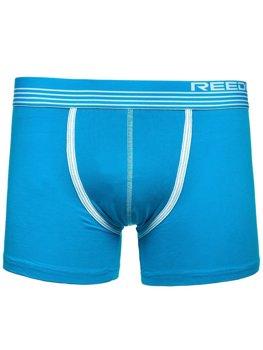 Modré pánské boxerky Bolf G513
