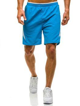 Modré pánské plavecké šortky Bolf WK17