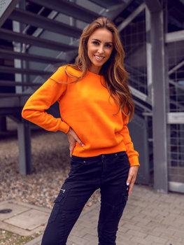 Oranžová dámská mikina Bolf W01