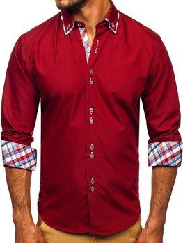1a9ce67eed3 Pánské košile bez vzoru - jednobarevné