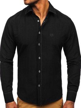 Pánská košile BOLF 4719 černá