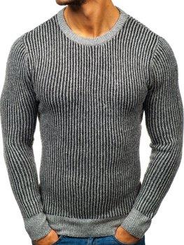 Šedý pánský svetr Bolf H1818