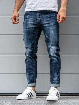 Tmavě modré pánské džíny Bolf KX263