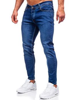 Tmavě modré pánské džíny slim fit Bolf R921