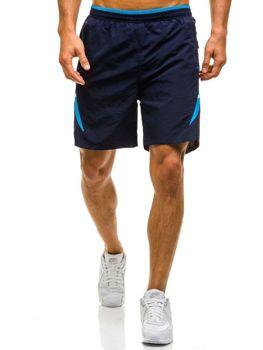 Tmavě modré pánské plavecké šortky Bolf WK17