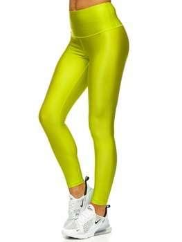 Zelené dámské legíny Bolf YW06010