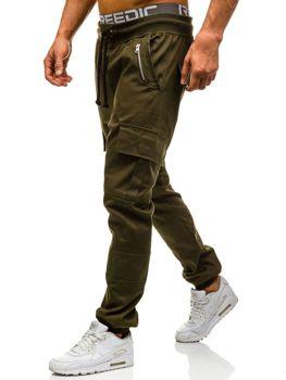 Zelené pánské jogger kapsáče Bolf 0707
