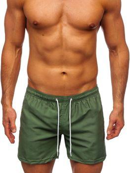 Zelené pánské plavecké šortky Bolf ST002