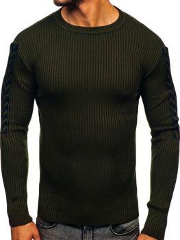 Zelený pánský svetr Bolf 360