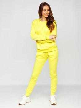 Žlutá dámská tepláková souprava Bolf 0001