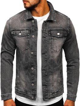 Černá pánská džínová bunda Bolf AK586