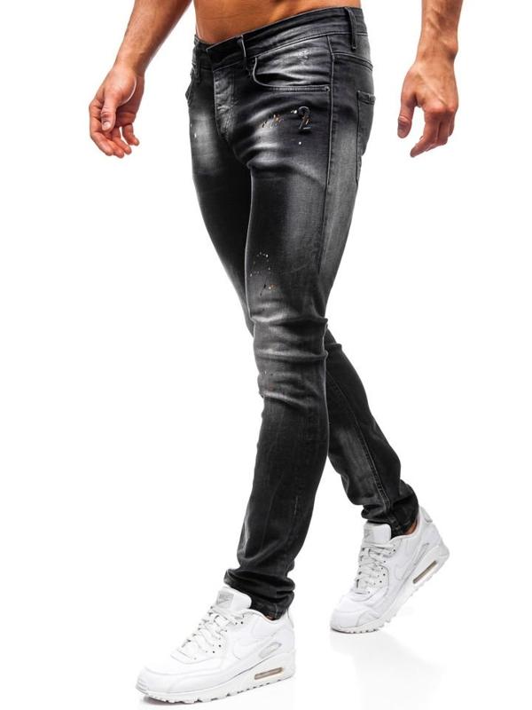 Černé pánské džíny Bolf 9231