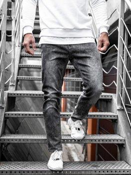 Černé pánské džíny Bolf KX190