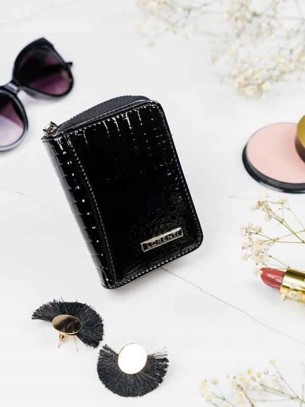 Dámská černá kožená peněženka 2110