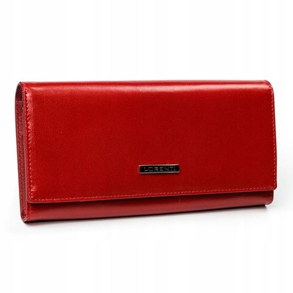 Dámská červená kožená peněženka 2902