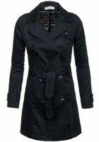 Dámský kabát AUTHENTIC STYLE 4217 černý
