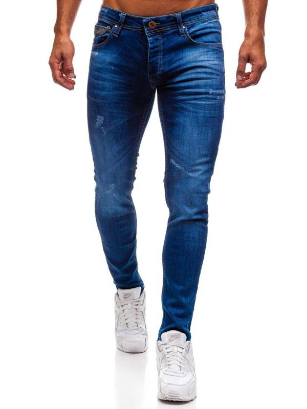 Modré pánské džínové kalhoty Bolf 1308