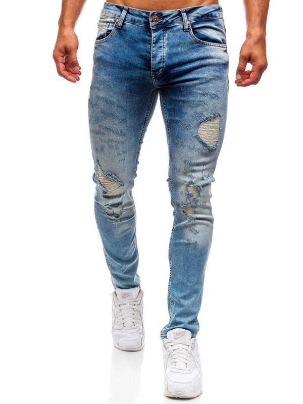 Modré pánské džíny Bolf 1842