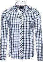 Pánská košile BOLF 5812 tmavě modrá