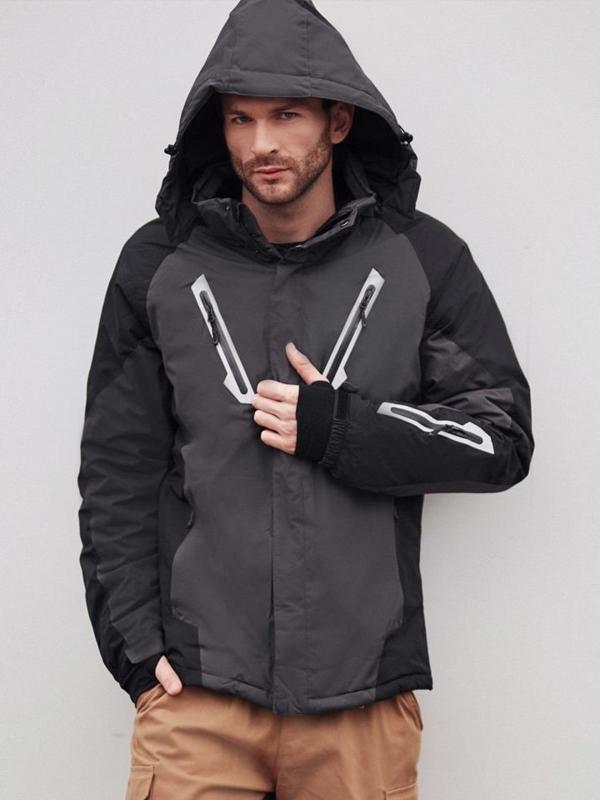 Stylizace č. 404 - lyžařská bunda, kapsáče