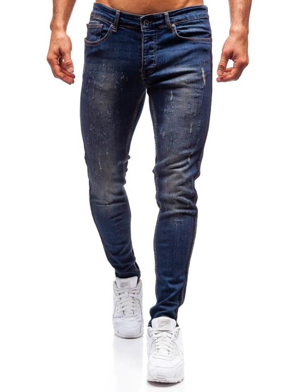 Tmavě modré pánské džíny Bolf 1014