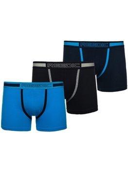 Vícebarevné pánské boxerky-3 Bolf G506-3P 3 PACK