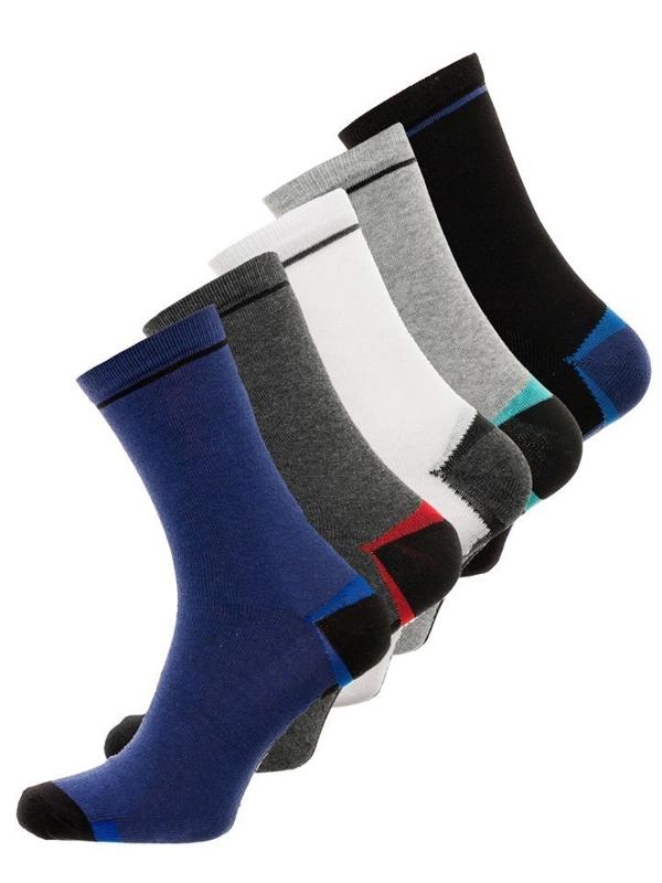 Vícebarevné pánské ponožky Bolf X10009-5P 5 PACK