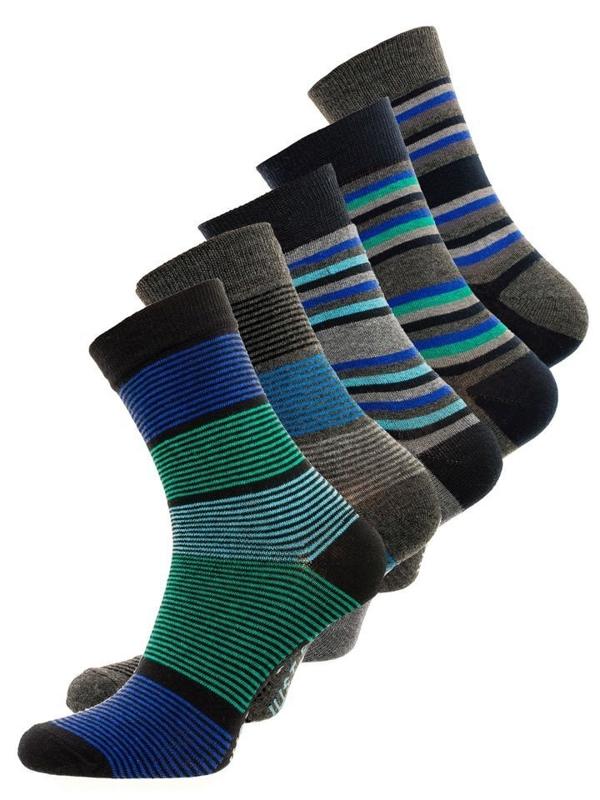 Vícebarevné pánské ponožky Bolf X10026-5P 5 PACK