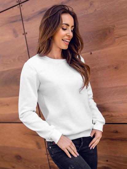 Bílá dámská mikina Bolf W01