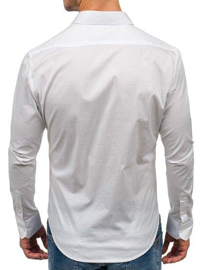 Bílá pánská košile Bolf 142