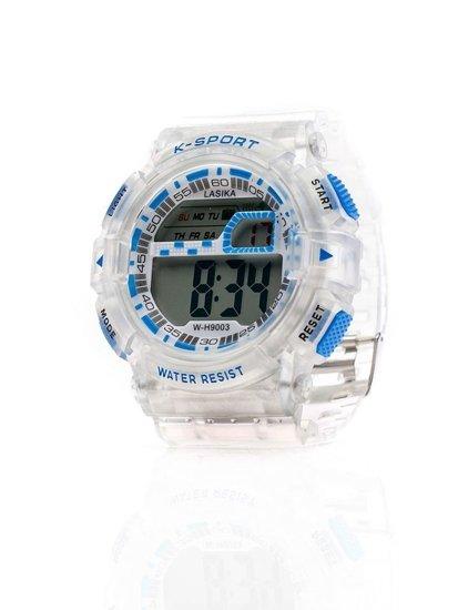 Bílo-modré pánské hodinky Bolf 9003