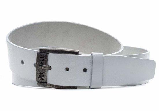 Bílý pánský pásek JEEL 2013