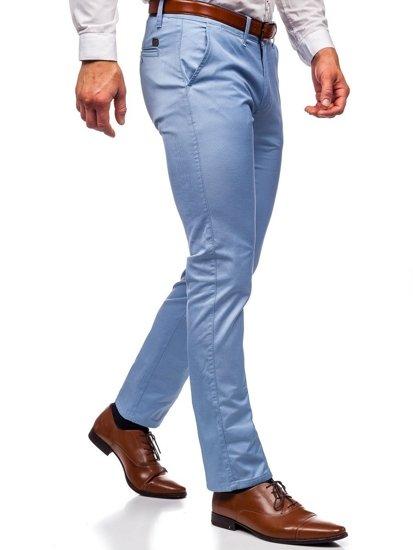 Blankytné pánské chino kalhoty Bolf KA1786P